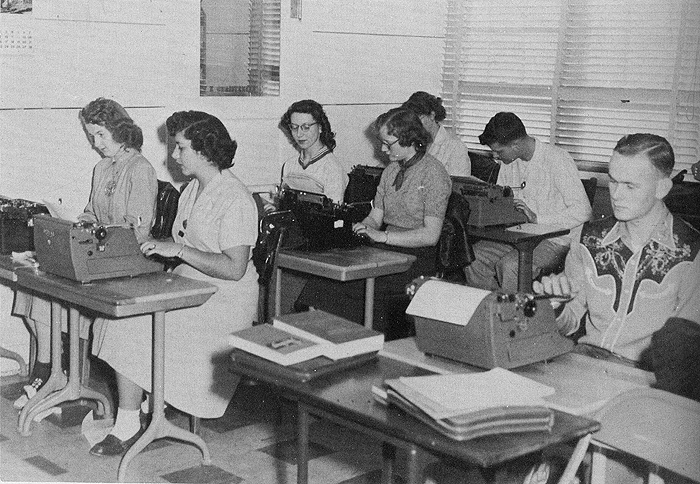 Typing class 1953