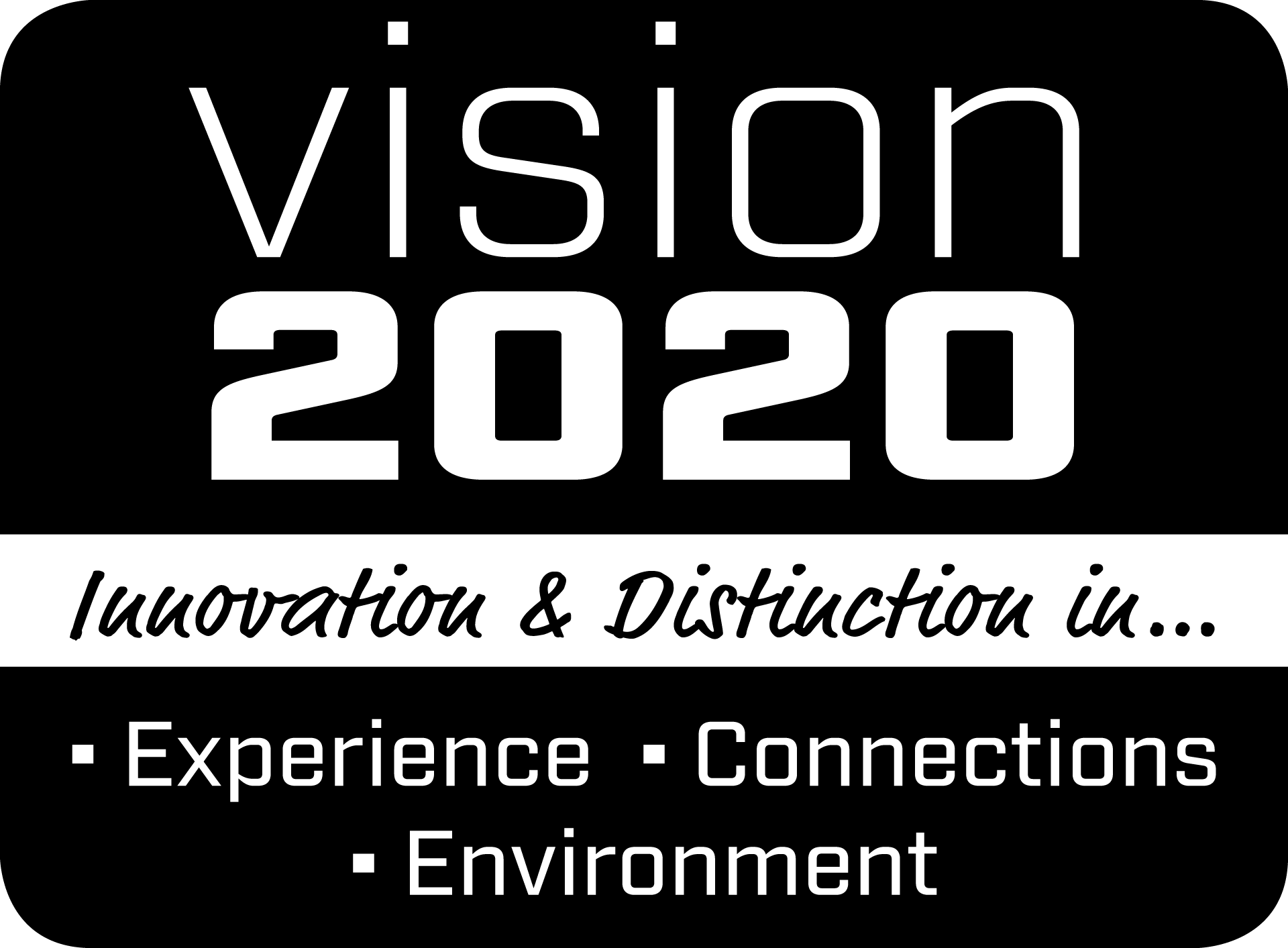 Vision 2020 Innovation & Distinction