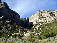 Wind River Canyon photo