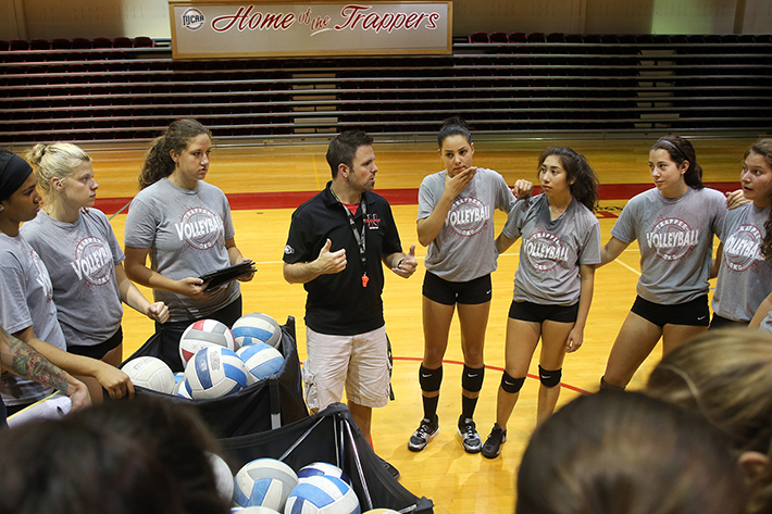 Volleyball #PlayLikeATrapper Mini-Camp: Hit, Serve, and Ball Control photo