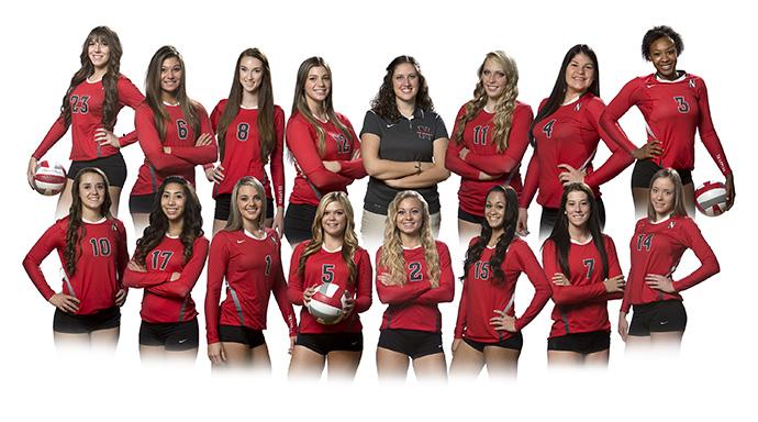 Past Team Photo Trapper Volleyball Northwest College